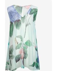 Ted Baker Distinguishing Rose Cover Up - Green