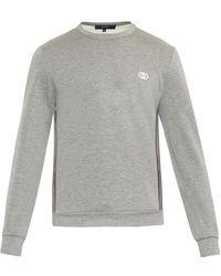 Gucci Side-stripe Sweatshirt - Lyst