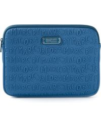 Marc By Marc Jacobs Blue Ipad Case - Lyst