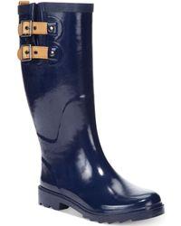 Chooka Top Solid Tall Rain Boots - Lyst