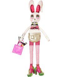 Manish Arora - Shopping Bunny Shaped Embellished Bag - Lyst