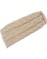 Linea Weekend - Knitted Headwarmer - Lyst