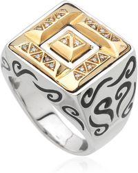 Marco Ta Moko - Ara Gold & Sterling Silver Ring - Lyst