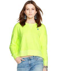 Polo Ralph Lauren French Terry Sweatshirt - Lyst
