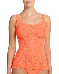 Hanky Panky Signature Lace Camisole orange - Lyst
