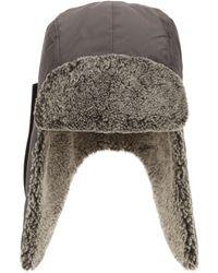 Woolrich Ramar Shearling Lining Trapper Hat - Lyst