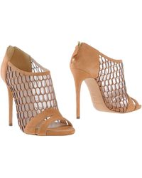 Casadei Shoe Boots brown - Lyst