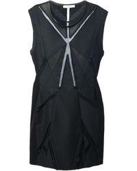 Iro Black Geometric Dress - Lyst