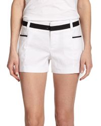 Alice + Olivia Trimmed Shorts - Lyst