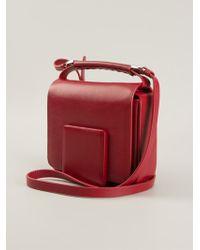 Jil Sander Lady J Square Shoulder Bag - Lyst