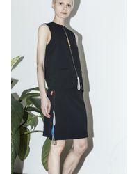 Cf. Goldman C.F. Goldman Black Zip Skirt black - Lyst