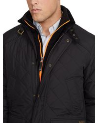 Polo Ralph Lauren Cadwell Quilted Bomber Jacket - Lyst