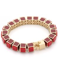 Eddie Borgo - Inlaid Small Cube Bracelet - Lyst