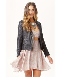 Doma Motorcycle Leather Jacket - Lyst