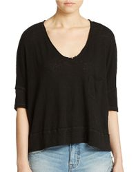 Free People Crescent Moon Tee - Lyst