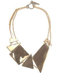 Arielle De Pinto - Decollete Shard Necklace - Lyst