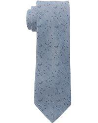 Calvin Klein Blue Suiting Floral - Lyst