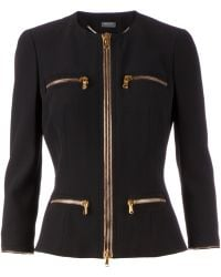 Alexander McQueen Skirt Suit - Black