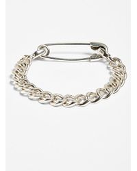 Giles & Brother Men'S Safety Pin Bracelet - Sterling Silver - Lyst