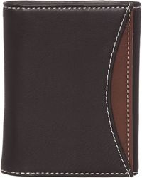 Original Penguin Trifold With Coloured Pocket Wallet - Black