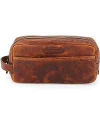 Frye - Logan Leather Travel Kit - Lyst