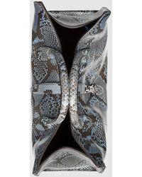 Gucci - Jackie Soft Python Top Handle Bag - Lyst
