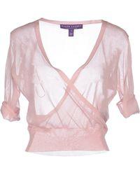 Ralph Lauren Collection Jumper pink - Lyst