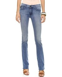 True Religion The Becca Mid Rise Boot Cut Jeans Earths Mystery - Lyst