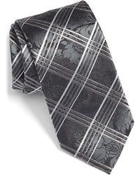 Bugatchi - Plaid Silk Tie - Lyst