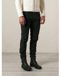 Diesel Waxed Finish Skinny Jeans - Lyst