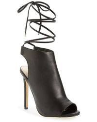 Topshop | Robyn Open-Toe Sandals | Lyst