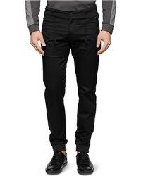 Calvin Klein Drawstring Slim Leg Pants - Lyst