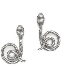 Jarin K - Coiled Snake Earrings - Lyst
