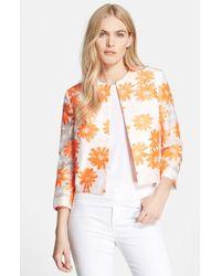 Helene Berman Neon Floral Jacket - Lyst