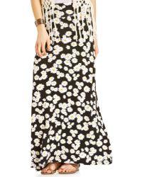 American Rag - Daisy-print Maxi Skirt - Lyst