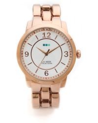 La Mer Collections - Tuscany Oversized Watch Rose Gold - Lyst