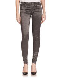 True Religion Joan Smalls X Mid-Rise Printed Leggings gray - Lyst