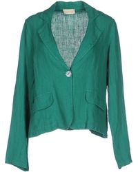 Club Voltaire Blazer - Green