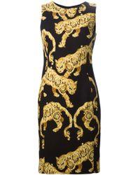 Versace Panther Dress - Lyst