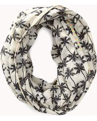 Forever 21 - Tropical Palm Infinity Scarf - Lyst