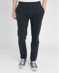 American Vintage Navy Sport Couture Trousers blue - Lyst