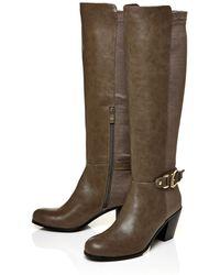 Moda In Pelle | Senese Low Heel Knee Boots | Lyst