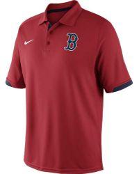 Nike Men'S Boston Red Sox Ac Dri-Fit Training Polo - Lyst
