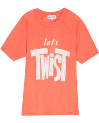 Wildfox | Let's Twist T-shirt | Lyst