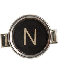 The Antique Jewel Box - Typewriter Key Cufflinks - Lyst