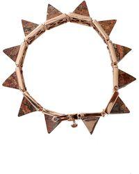Eddie Borgo | Gemstone Pyramid Bracelet | Lyst