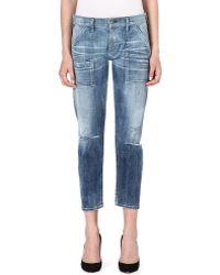 Citizens Of Humanity Stretch Denim Leah Jeans Sun Bleach - Lyst