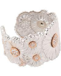 Buccellati - Diamond Daisy Bracelet - Lyst