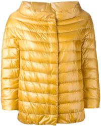 Herno Quilted Jacket - Lyst