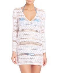 Milly | Mykonos Crochet Tunic | Lyst